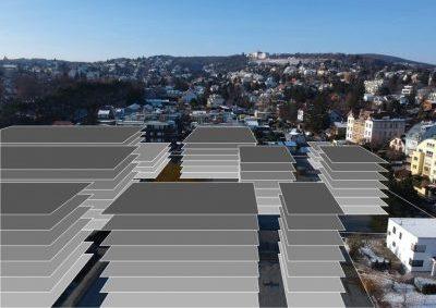 Stadt Wien und Investoren - Massivverbauung